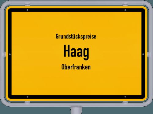 Grundstückspreise Haag (Oberfranken) 2019