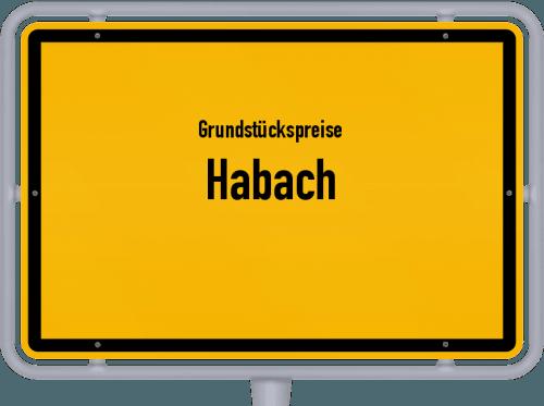Grundstückspreise Habach 2019