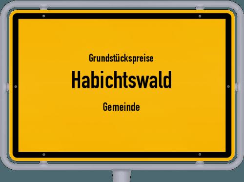 Grundstückspreise Habichtswald (Gemeinde) 2018