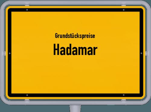 Grundstückspreise Hadamar 2018