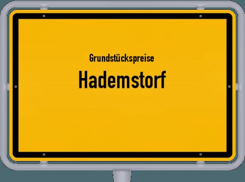Grundstückspreise Hademstorf 2021