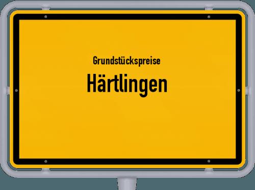 Grundstückspreise Härtlingen 2019