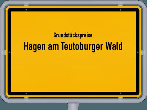 Grundstückspreise Hagen am Teutoburger Wald 2019