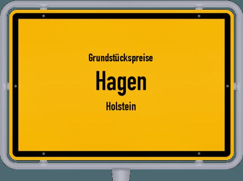 Grundstückspreise Hagen (Holstein) 2021