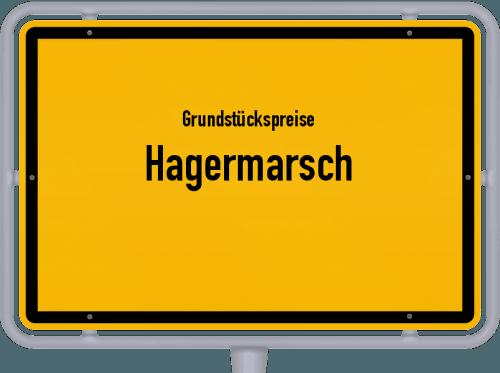 Grundstückspreise Hagermarsch 2021