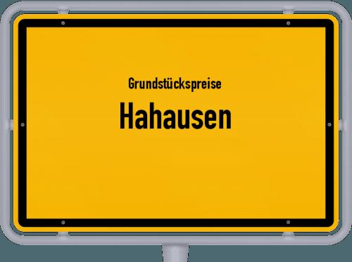 Grundstückspreise Hahausen 2019