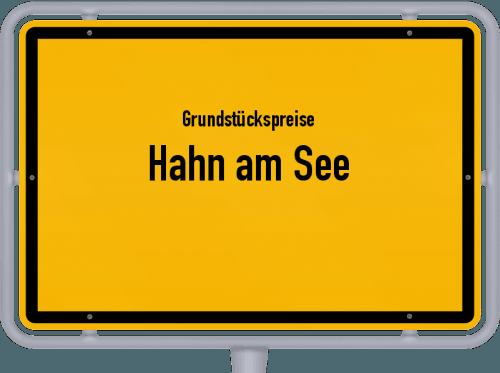Grundstückspreise Hahn am See 2019