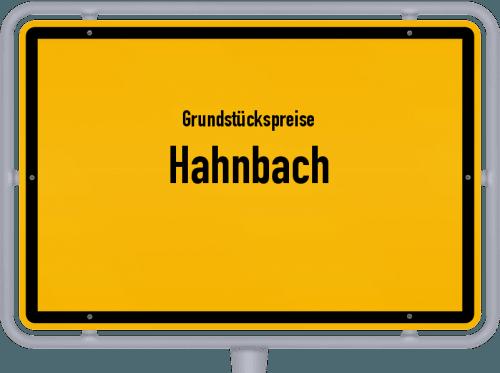 Grundstückspreise Hahnbach 2019