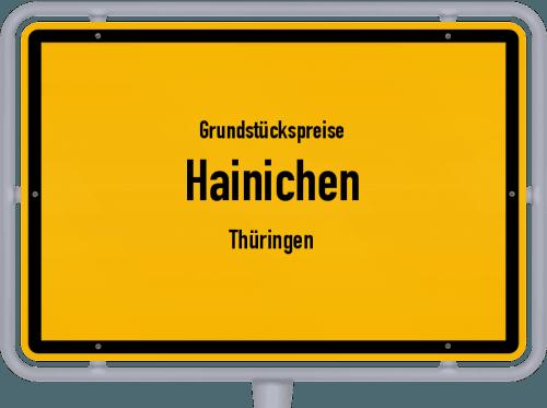 Grundstückspreise Hainichen (Thüringen) 2019