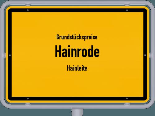 Grundstückspreise Hainrode (Hainleite) 2019