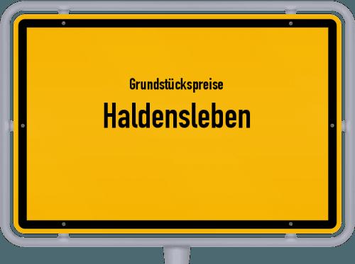 Grundstückspreise Haldensleben 2020