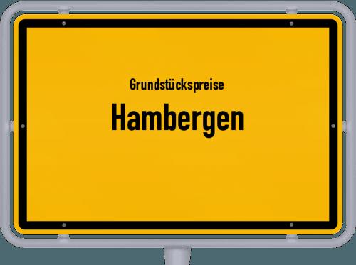 Grundstückspreise Hambergen 2021