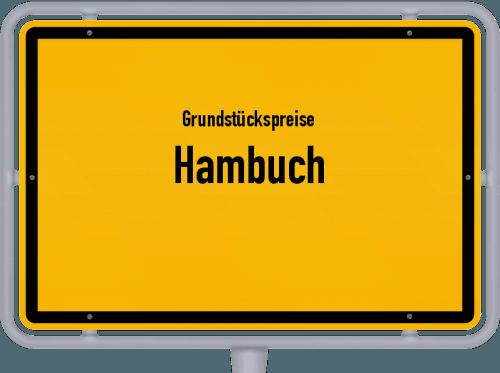 Grundstückspreise Hambuch 2019