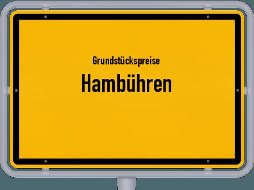 Grundstückspreise Hambühren 2019