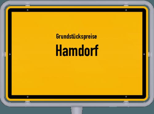 Grundstückspreise Hamdorf 2021