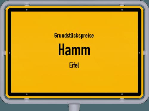 Grundstückspreise Hamm (Eifel) 2019