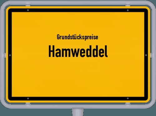 Grundstückspreise Hamweddel 2021