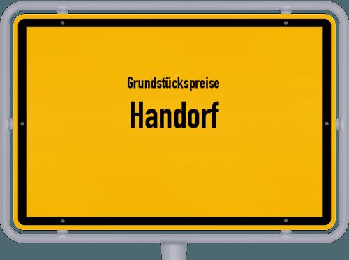 Grundstückspreise Handorf 2019