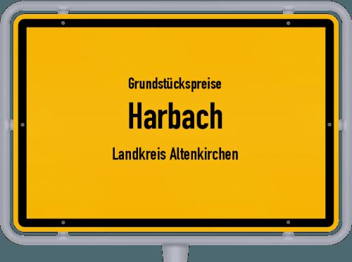 Grundstückspreise Harbach (Landkreis Altenkirchen) 2019