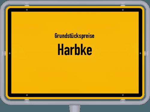 Grundstückspreise Harbke 2021