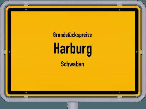 Grundstückspreise Harburg (Schwaben) 2019
