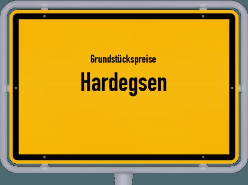 Grundstückspreise Hardegsen 2019