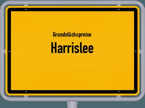 Grundstückspreise Harrislee 2021