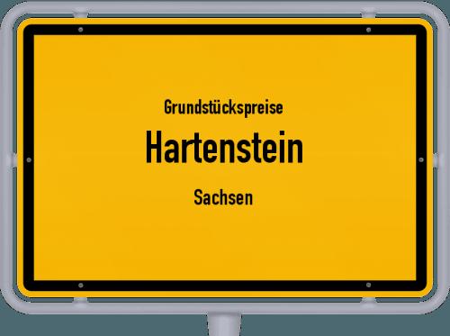 Grundstückspreise Hartenstein (Sachsen) 2019