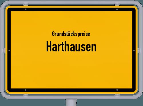 Grundstückspreise Harthausen 2019
