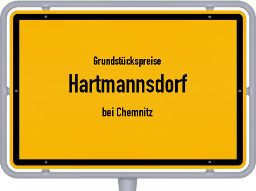 Grundstückspreise Hartmannsdorf (bei Chemnitz) 2019