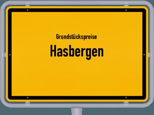 Grundstückspreise Hasbergen 2019