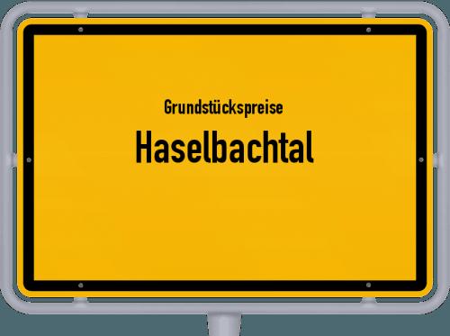 Grundstückspreise Haselbachtal 2019