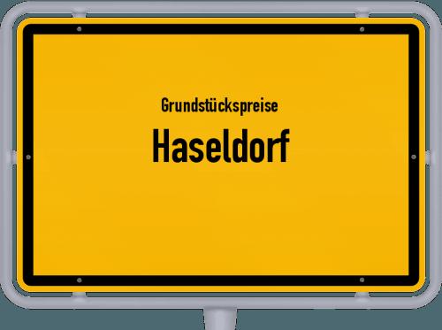 Grundstückspreise Haseldorf 2021