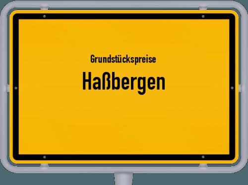Grundstückspreise Haßbergen 2019