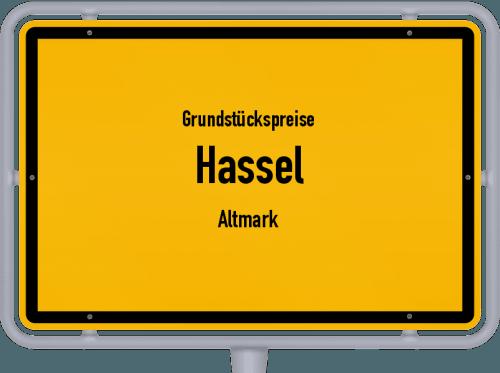 Grundstückspreise Hassel (Altmark) 2021