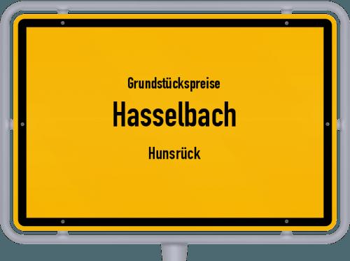 Grundstückspreise Hasselbach (Hunsrück) 2019