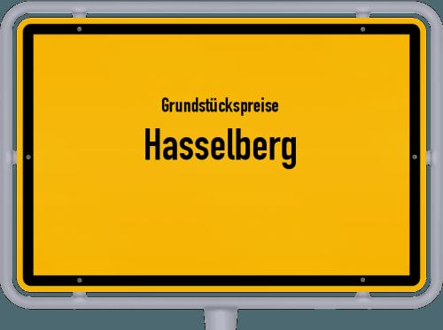 Grundstückspreise Hasselberg 2021