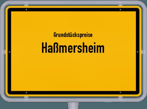 Grundstückspreise Haßmersheim 2018