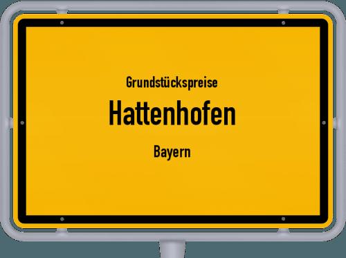 Grundstückspreise Hattenhofen (Bayern) 2019