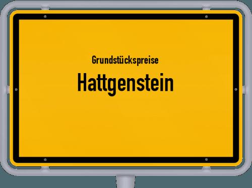 Grundstückspreise Hattgenstein 2019