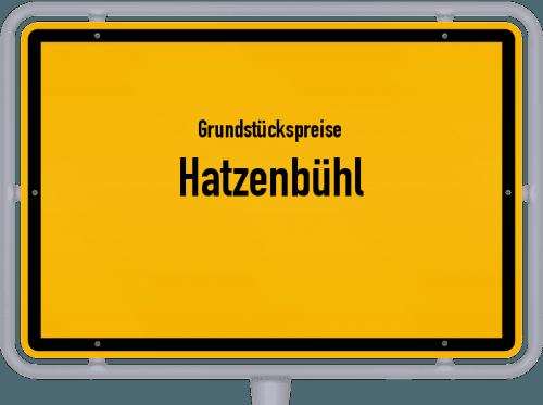 Grundstückspreise Hatzenbühl 2019