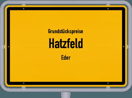 Grundstückspreise Hatzfeld (Eder) 2019