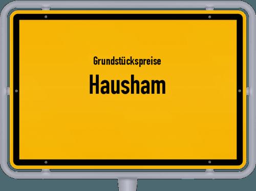 Grundstückspreise Hausham 2019