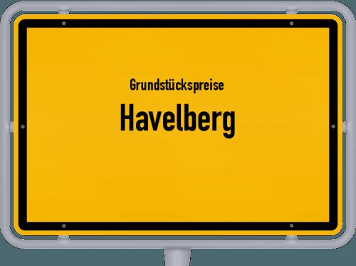 Grundstückspreise Havelberg 2021