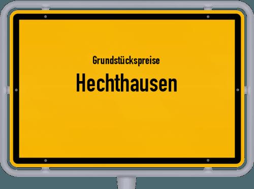 Grundstückspreise Hechthausen 2021