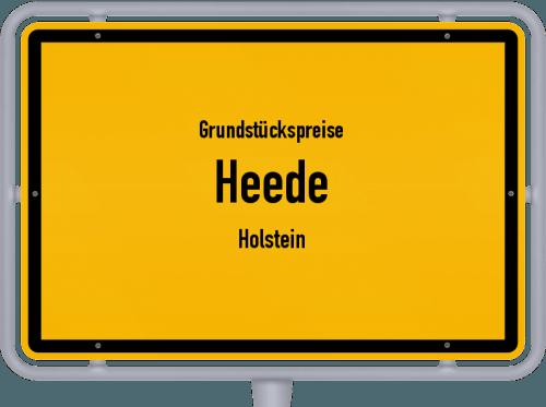 Grundstückspreise Heede (Holstein) 2021