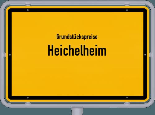 Grundstückspreise Heichelheim 2019