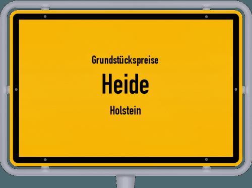 Grundstückspreise Heide (Holstein) 2021