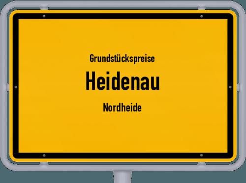 Grundstückspreise Heidenau (Nordheide) 2019