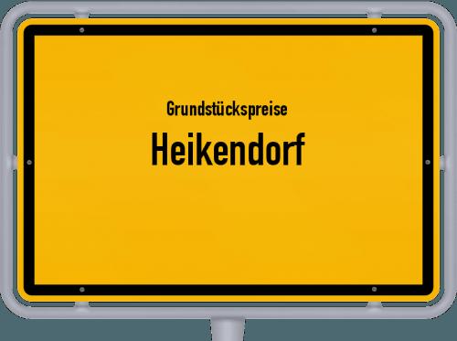 Grundstückspreise Heikendorf 2021